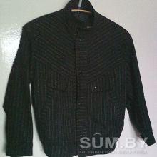 Куртка мальчуковая черная в полоску объявление продам