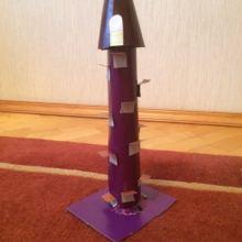 Башня своими руками объявление продам