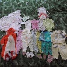 Вещи на новорожденную девочку 50-56 см. Цена договорная объявление продам