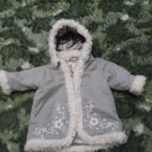 Куртка зимняя на девочку 68 см. Цена договорная объявление продам