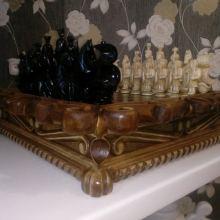Шахматы резные ручной работы объявление продам