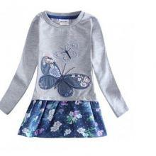 Туника с вышивкой «Бабочка» рост 110 объявление продам
