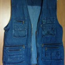 МУЖСКАЯ джинсовая ЖИЛЕТКА объявление продам