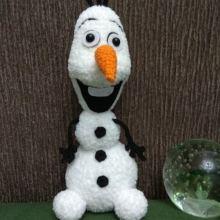 Снеговик Олаф, 22см объявление продам