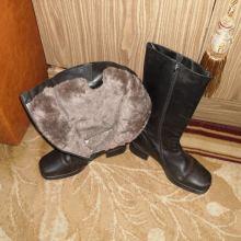 Сапоги женские кожаные р.41 Belwest немного б/у объявление продам