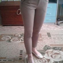 Бежевые штанишки объявление продам
