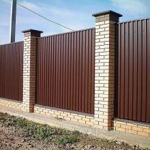 Забор из сетки-рабица диаметр проволки 1.8мм под ключ вариант эконом объявление продам