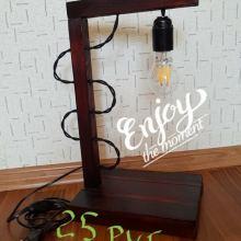 Декоративный светильник ручной работы объявление продам