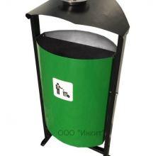 Уличная урна на 25 литров М2 с пепельницей объявление продам