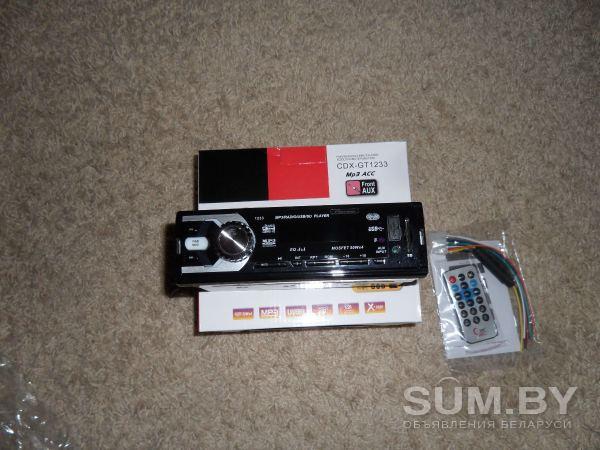 Автомагнитола Pioneer SD, USB, MP3, FM новая объявление продам