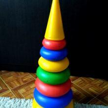 Детская пирамидка объявление продам