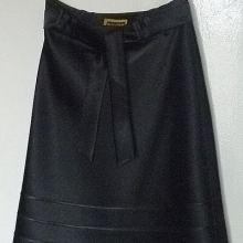 Юбка черная нарядная с поясом объявление продам