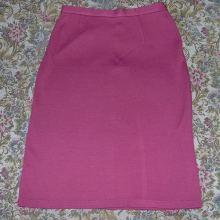 Юбка темно-розовая трикотажная объявление продам