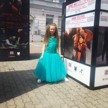 Платье очень красивое 122-128 объявление продам
