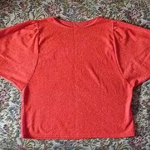 Блузка красная объявление продам
