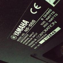 Колонки напольные Yamaha NS-555 объявление продам