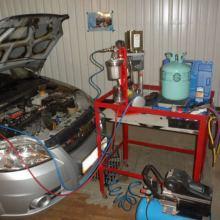 Ремонт и заправка автомобильных кондиционеров объявление услуга