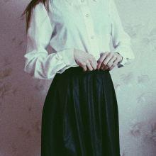 Чёрная кожаная юбка объявление продам