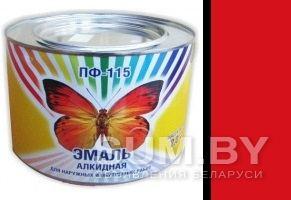 Эмаль ПФ-115 красная (2 кг банка) объявление продам