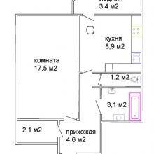 Продаётся однокомнатная квартира в центре города Смолевичи объявление продам