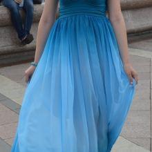 Платье в пол объявление продам