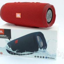 Колонки JBL Charge 3+ (Красный) объявление продам