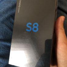 ЗАХОДИ!!!НОВЫЙ!!! SAMSUNG GALAXY S8 1 SIM 64 GB BLACK объявление продам