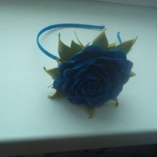 Украшение для волос с цветком из фоамирана объявление продам