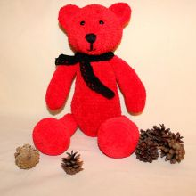 Игрушка Медведь RED амигуруми объявление продам