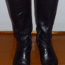 Сапоги женские кожаные объявление продам