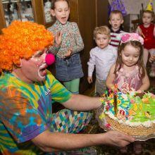 Детские праздники с весёлым клоуном Бубликом объявление услуга