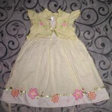 Платье на 4 года объявление продам