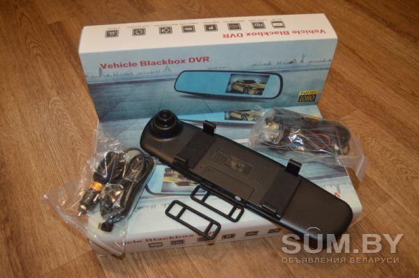 Зеркало видеорегистратор Vehicle BlackBox DVR с камерой задн объявление продам