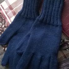 Вязаные перчатки объявление продам
