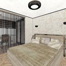 Мебель для спальни. Дизайн интерьера и всех видов корпусной мебели объявление услуга