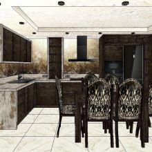 Мебель для кухни. Дизайн интерьера и всех видов корпусной мебели объявление услуга