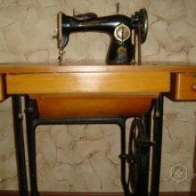 Швейная машинка с ножным приводом объявление продам