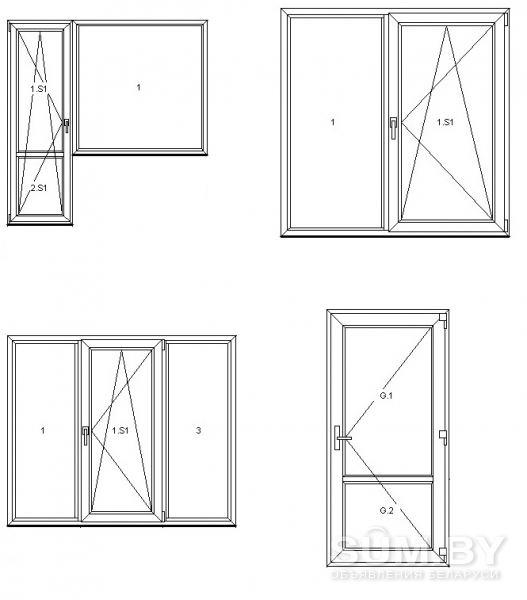 Окна и двери ПВХ объявление продам