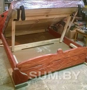 Кровать из масива сосны! объявление продам