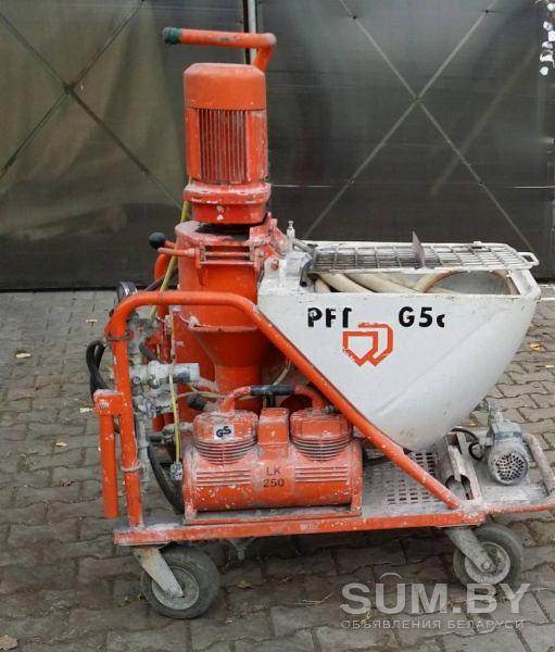 Штукатурная станция PFT G5c объявление продам
