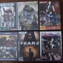 Диски с играми на пк dvd объявление продам