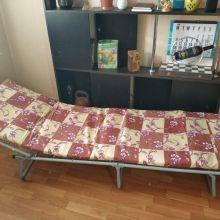 Раскладушка Соня туристическая раскладная кровать объявление продам