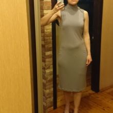 Серое платье объявление продам