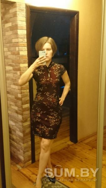Платье в китайском стиле объявление продам