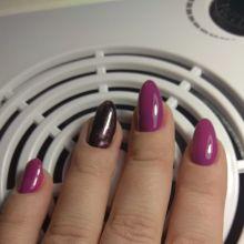 Маникюр педикюр наращивание ногтей и долговременное покрытие ногтей объявление услуга