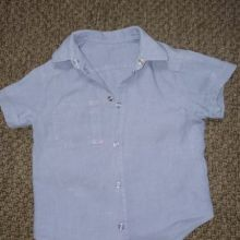 Рубашка льняная на 3 года объявление продам