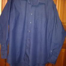Рубашка синяя мужская р-р 46-48(ворот 42) Турция объявление продам