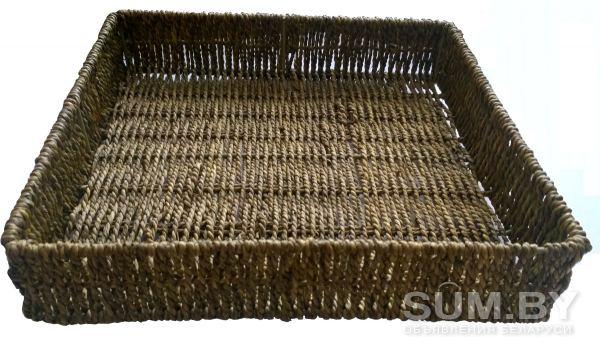 Поднос (лоток) из морской травы (Вьетнам) объявление продам