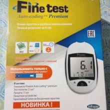 Глюкометр Finetest Auto – Coding Premium объявление продам
