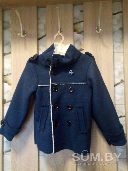 Новая куртка-байка мальчуковая на 3-4 года объявление продам